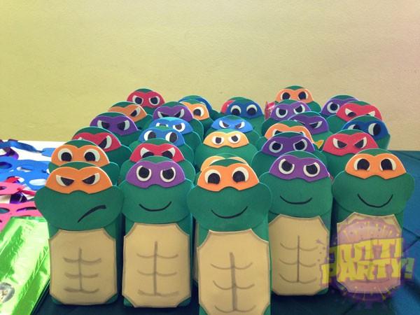 Centro De Mesa Tortugas Ninja