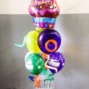 Arrego de globos personalizados Playa del Carmen