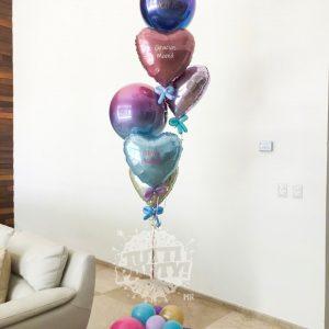 Arreglos de globos personalizados Playa del Carmen