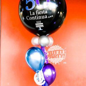 Arreglo de globos personalizados Playa del Carmen