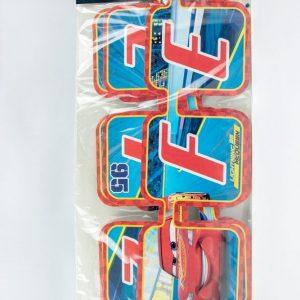 letrero móvil cars 3