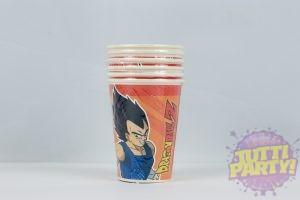 Vaso Dragon Ball, desechable de cartón