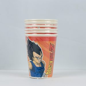 Vaso Dragon Ball, desechable de cartón