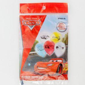 globo impreso cars pqc/9 pzas