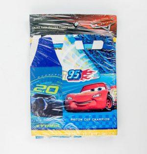 caja lonchera para dulces cars