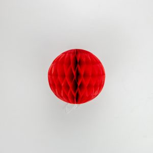 esfera de papel tipo panal chica