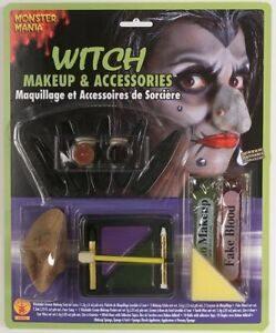 Maquillaje y Accesorios para Bruja