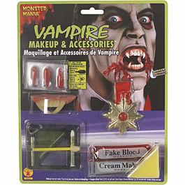 Maquillaje y Accesorios de Vampiro