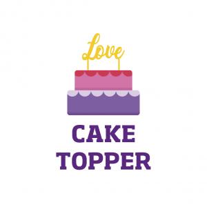 Cake Toppers (Decoración para Pastel)
