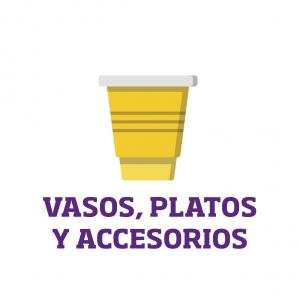Platos y Vasos para Fiesta