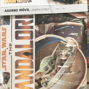 ADORNO MÓVIL STAR WARS MANDALORIAN TUTTI PARTY