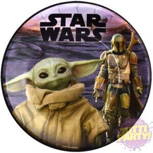 Plato Pastelero Baby Yoda